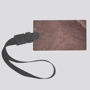 Nazca lines Large Luggage Tag