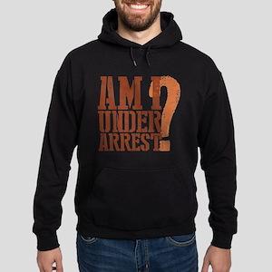 Breaking Bad: Am I Under Arrest Hoodie (dark)