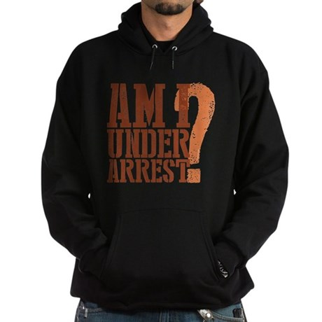 Breaking Bad: Am I Under Arrest Hoodie (dark)