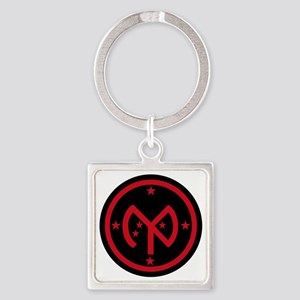 27th Infantry Division Square Keychain