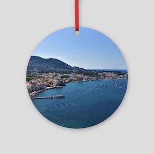 Ischia, Italy Round Ornament