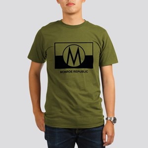 Monroe Republic Organic Men's T-Shirt (dark)