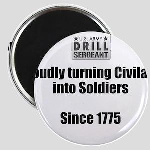 Drill Sergeants job Magnets
