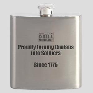 Drill Sergeants job Flask