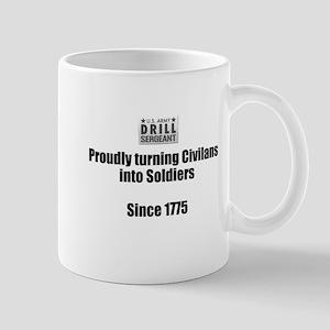 Drill Sergeants job Mugs