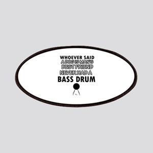 Cool bass drum designs Patches