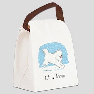 eskiesnowCP Canvas Lunch Bag