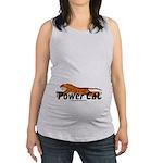 Power Cat Maternity Tank Top
