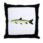black carp Throw Pillow