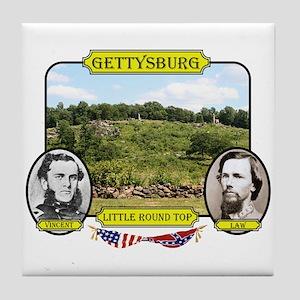 Gettysburg-Little Round Top Tile Coaster