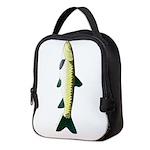 Black Carp c Neoprene Lunch Bag