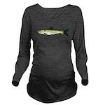 Black Carp c Long Sleeve Maternity T-Shirt