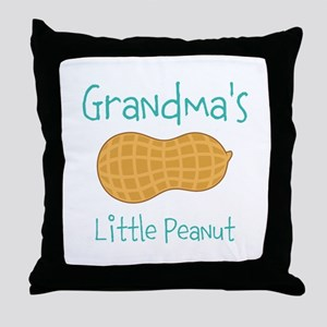 Personalized Little Peanut Throw Pillow