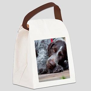 thorn_notecard_artwork Canvas Lunch Bag