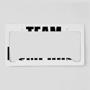 Team Humphrey License Plate Holder