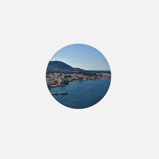 Ischia, Italy Mini Button