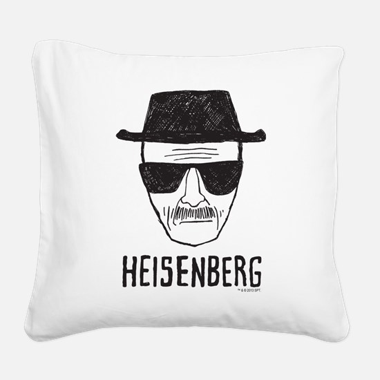 Heisenberg Square Canvas Pillow