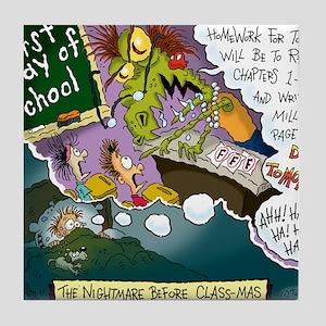 The Nightmare Before Class-mas Tile Coaster