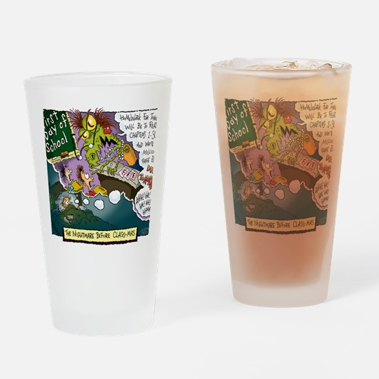 The Nightmare Before Class-mas Drinking Glass