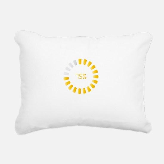 sarcasm wh Rectangular Canvas Pillow