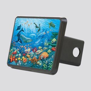 Oceanscape Hitch Cover