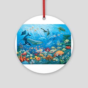 Oceanscape Ornament (Round)