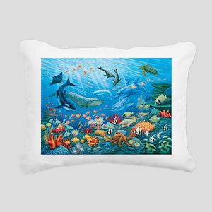 Oceanscape Rectangular Canvas Pillow