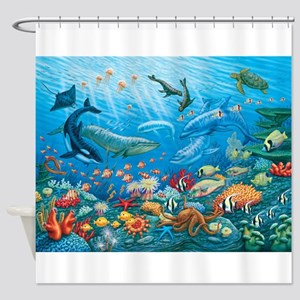 Oceanscape Shower Curtain