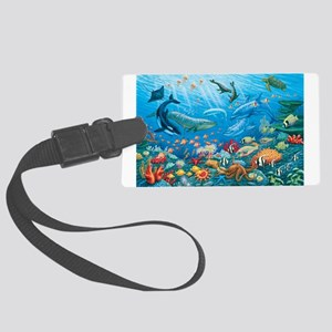 Oceanscape Luggage Tag