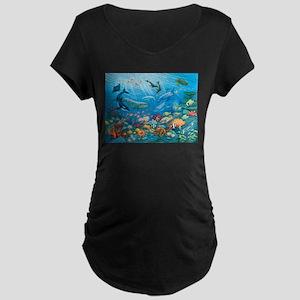 Oceanscape Maternity T-Shirt