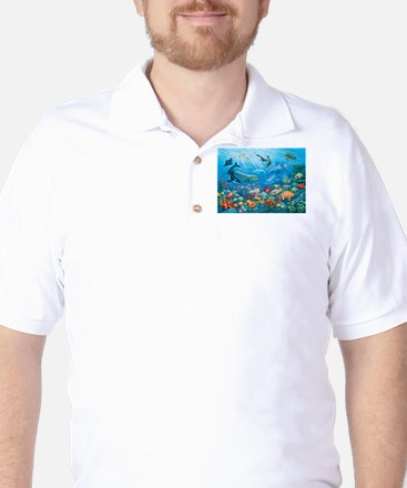 Oceanscape Golf Shirt