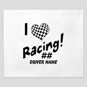 Custom Racing King Duvet