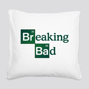 Breaking Bad Logo Square Canvas Pillow