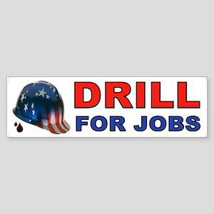 DRILL BUMPER STICKER Bumper Sticker