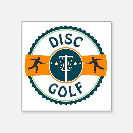 """Disc Golf Square Sticker 3"""" x 3"""""""