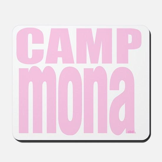 Camp Mona Mousepad