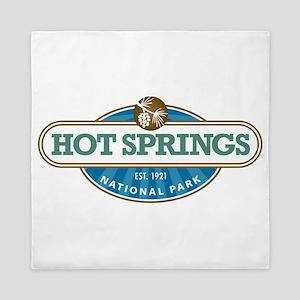 Hot Springs National Park Queen Duvet