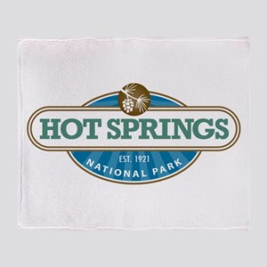 Hot Springs National Park Throw Blanket