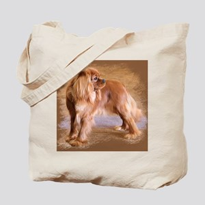Cavalier King Charles Spaniel -Ruby Tote Bag