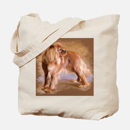 Cavalier King Charles Spaniel -Ruby Tote Bag