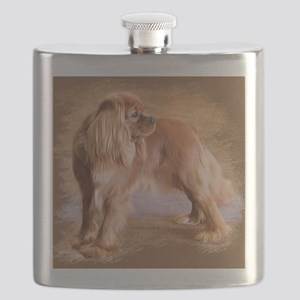 Cavalier King Charles Spaniel -Ruby Flask