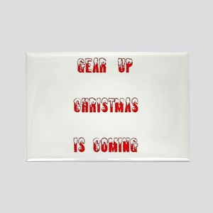 Gear Up Christmas Magnets