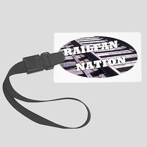 RailFan Nation 1 Large Luggage Tag