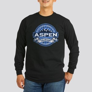 Aspen Blue Long Sleeve Dark T-Shirt