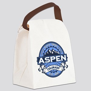 Aspen Blue Canvas Lunch Bag