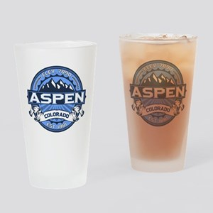 Aspen Blue Drinking Glass