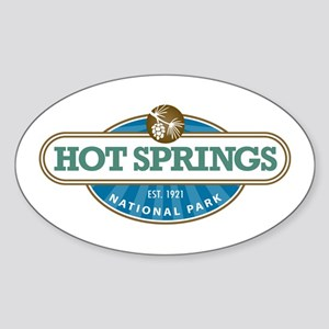 Hot Springs National Park Sticker