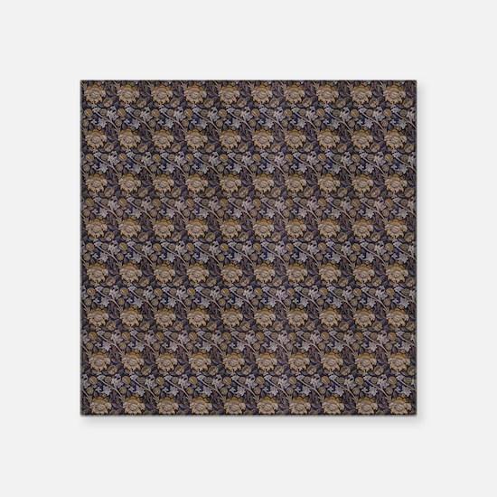 """William Morris Wey Design Square Sticker 3"""" x 3"""""""