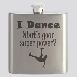 I Dance What's Your Super Power? Flask