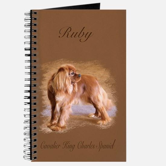 Cavalier King Charles Spaniel Ruby Journal